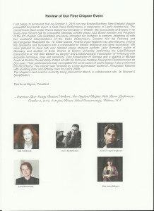 American Liszt Society Gala Concert Review