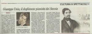 Gazzetta d'Alba, Feb. 2012