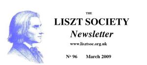 Liszt Society Journal n. 96
