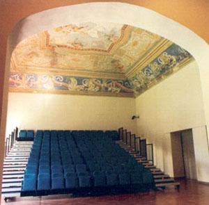 Bobbio, Italy. Auditorium Santa Chiara