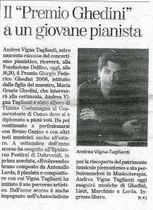 La Stampa, Oct 2008
