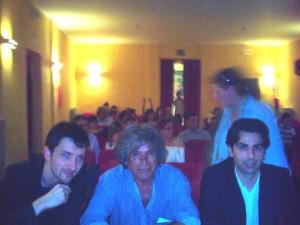 With maestros Nando de Luca and Francesco Suppa